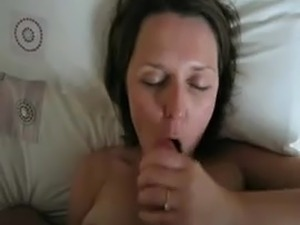 wife swallows cum sextube