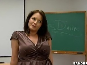 women teachers doing young boys video