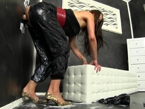 glory hole latex sex movies