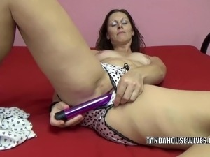 blonde housewife blow job