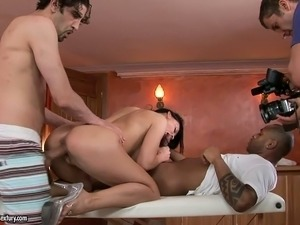 young couple young threesome porn tube