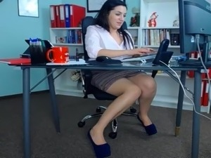 video secretary orgasm