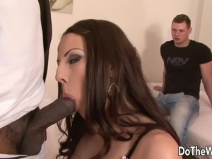 interracial gang anal creampie