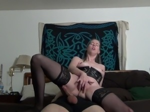 girl riding brothers dick