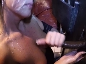 black glory hole dicks