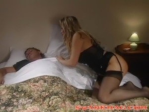 black stockings swingers