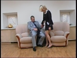 pantyhose smoking sexy blonde