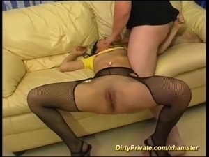 kinky mature anal french women