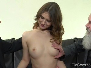 old with young asian lesbian tube