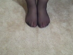 young little girl pantyhose video