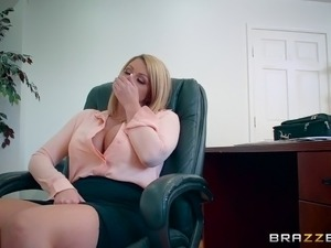 interracial xxx office