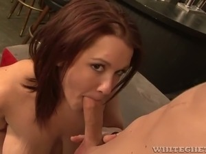 big tit cock suck video