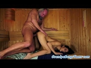 Hot old man sex