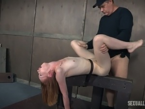 tied up girl sex