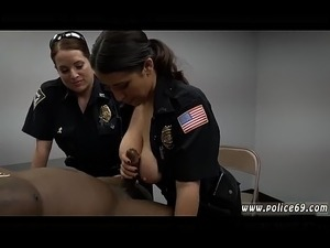 black police uniform facial