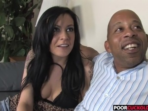 cuckold black video