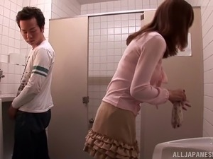 girls on japanese toilets