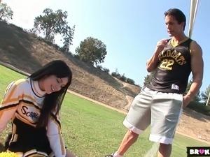 anal cheerleader sex