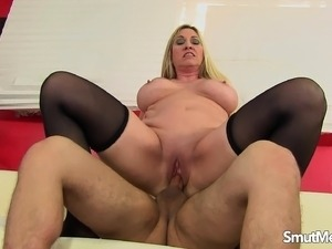 wife in stockings lick pussy