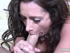 hot wife facial