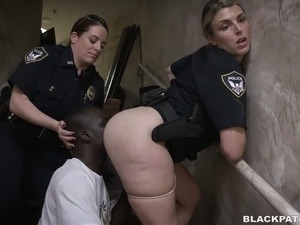 naked police girl video