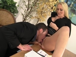 milf anal xxx video office
