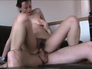 blonde girl riding cock