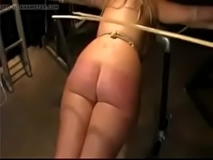 caning naked schoolgirls