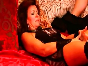 Amateur swingers having hot orgy in reality show
