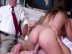 old man young girl slave collar