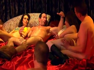 swingers club underground video