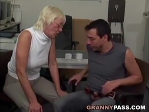 Granny interracial videos
