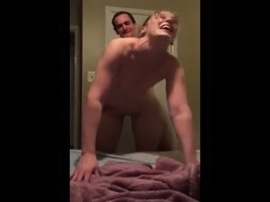 Wifes yelling unpleasant cuckold for recording husband anal