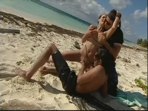 Spy cam beach sex