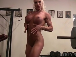 muscular shemale video
