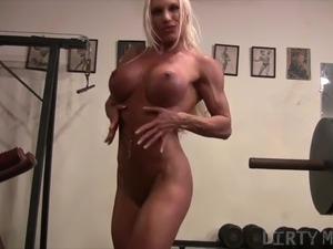 Lesbian gym porn