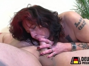 mature women eating young boys cum
