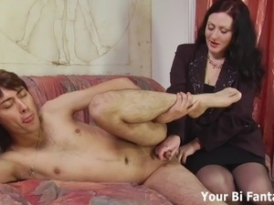 prostate milking handjob movies