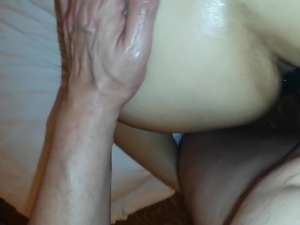 gaping asian anal