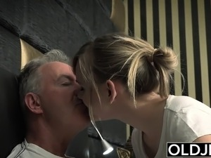 old man and girls galleries