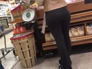 White petite lady with a very nice ass