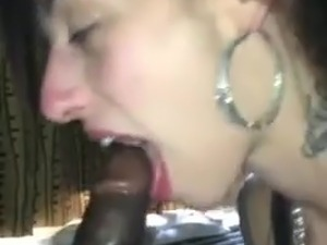 black dick in mature white slut