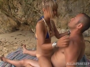 Sex in public beach