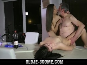 wife seduces guy for threesome