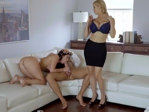 mom gives son some pussy