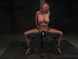 cane blonde girl bdsm