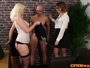 cfnm blowjob orgasm free video