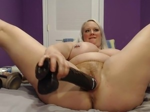 girls fuck wall mounted dildo