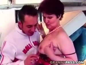 interracial granny sex tube