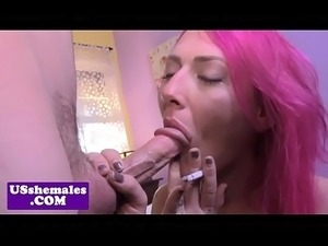 transsexual has the biggest tits